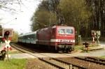 143 100-6 mit SE 20119 nach Nürnberg am 08.04.2001 in Oberasbach