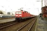 143 632-8 mit SE 20117 nach Nürnberg am 25.03.2001 in N.-Stein
