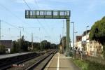 Neue Signalbrücke zur Aufnahme der Signale 27N1 und 27N2