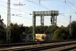 Neue Signalbrücke zur Aufnahme des Signals 27N4